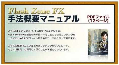 Flash Zone FX (フラッシュゾーン FX)手法概要マニュアルの画像
